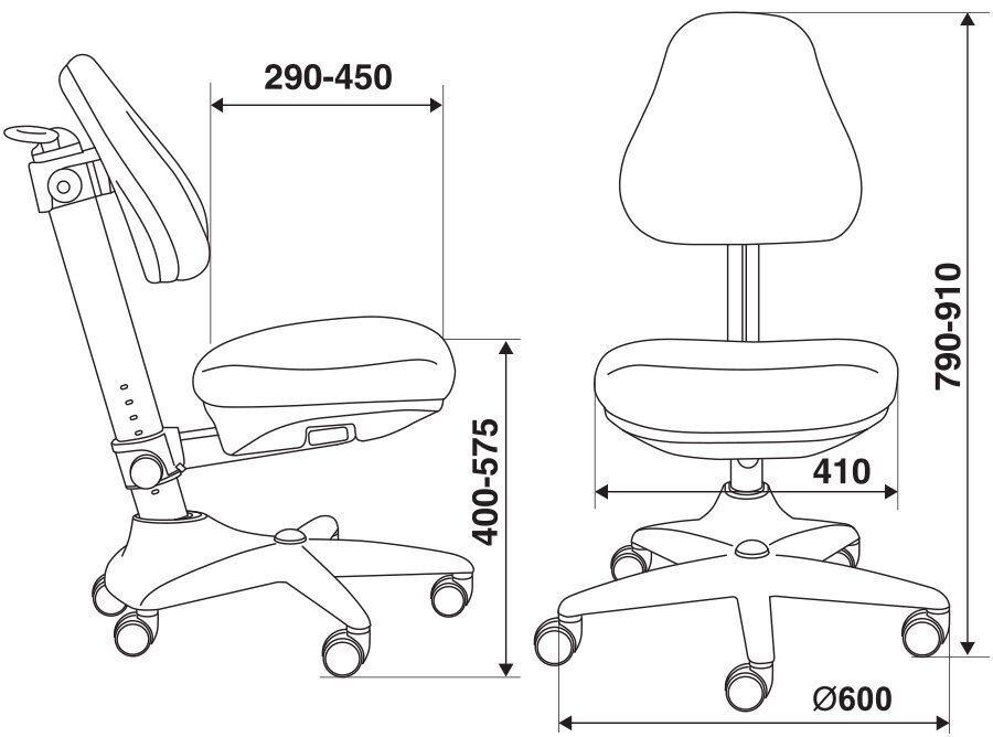 детское кресло KD-2 схема