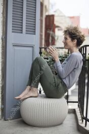 Пуф  KNIT (COZIES) SINGLE SEAT without inner bucket