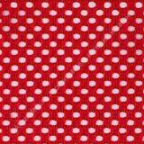 ткань-сетка цвет  красный