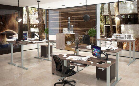 Xten_UP письменные столы для работы сидя-стоя